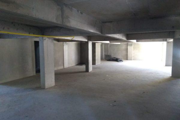 Garagem rebocada